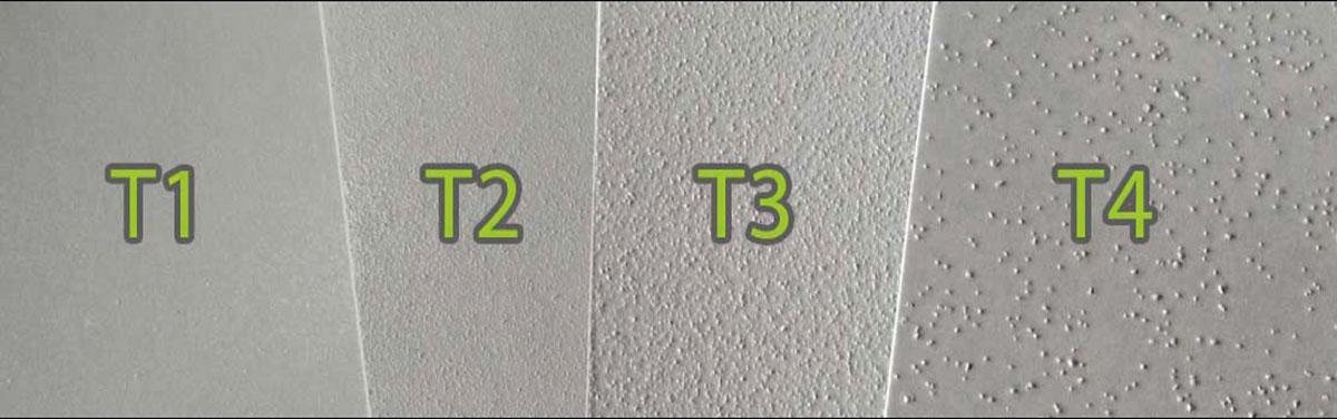 texturas anti adhesivo